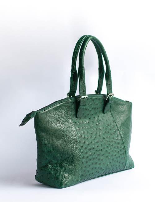 basetsana-genuine-ostrich-skin-leather-handbag-green