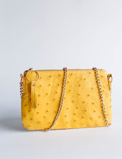 kate-small-ostrich-leather-handbag-yellow