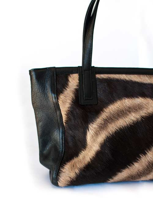 linda-zebra-hide-leather-tote-bag