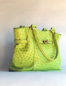 mida-ostrich-leather-handbag-green