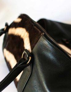 kabelo-zebra-hide-leather-overnight-bag