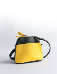 kim-leather-handbag-yellow-black-two-tone