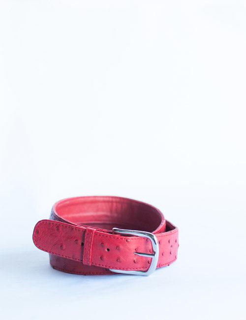 ladies-leather-belt-ostrich-pink