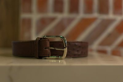 gallery-ostrich-leather-belt-brown-modern-and-tribal