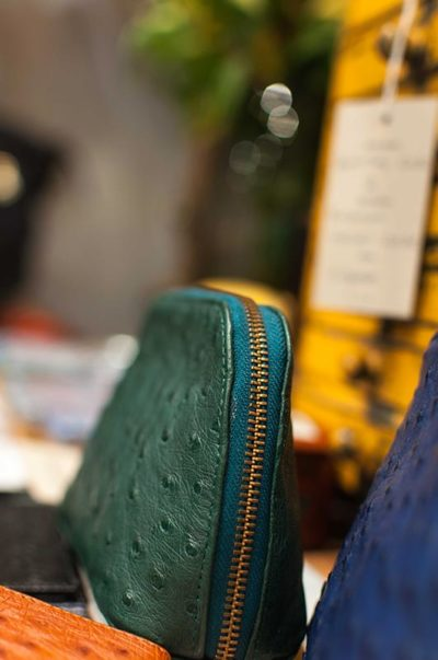 gallery-ostrich-leather-purse-green-modern-and-tribal