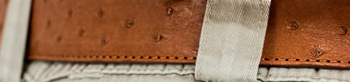 ostrich-leather-belt-brown