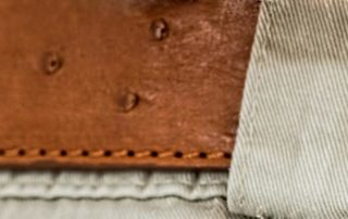 ostrich-leather-belt-brown