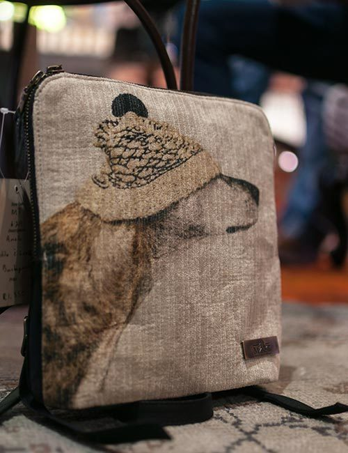 anele-leather-canvas-dog-print-backpack-1