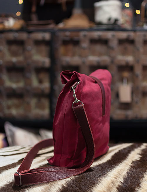 red-wax-canvas-sling-bag-with-maroon-leather-2