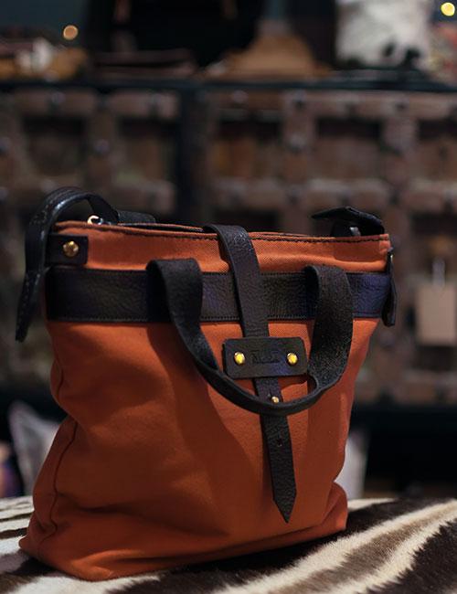 wax-canvas-orange-handbag-with-leather-straps-1